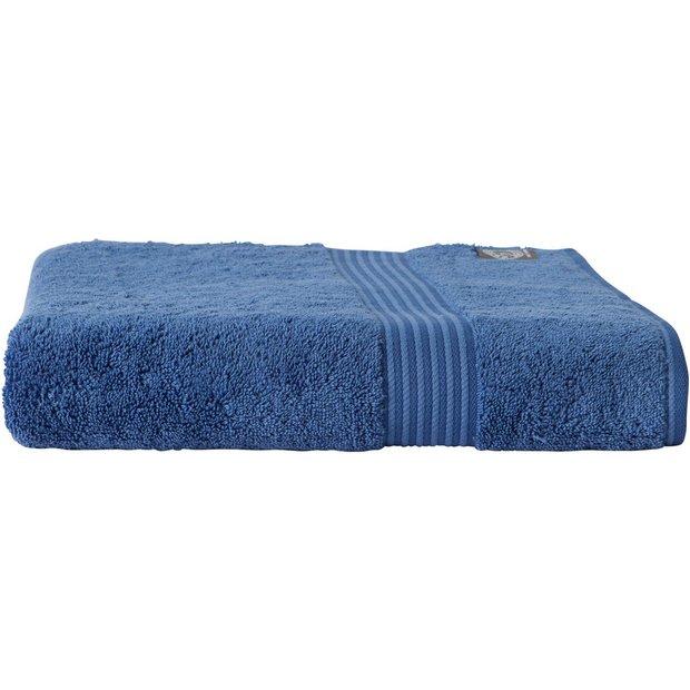 Buy Christy Supreme Hygro Bath Towel Deep Sea At Argos