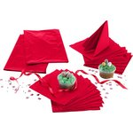 more details on Solid Colours Tableware Top-Up Kit - Ruby Red.