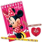 more details on Disney Minnie Mouse Bow-Tique Stationery Loot Bag Pack - Red