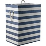more details on HOME 95 Litre Laundry Box - Blue and White.