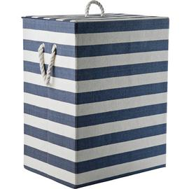 Argos Home 95 Litre Laundry Box - Blue and White