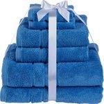 more details on HOME Zero Twist 6 Piece Towel Bale - China Blue.