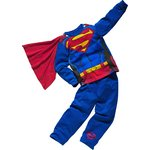 more details on Superman Boys' Blue Novelty Pyjamas and Cape.