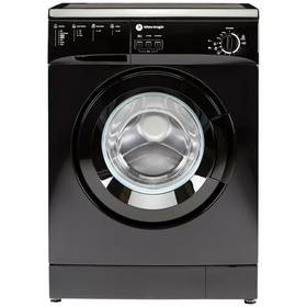 White Knight WM105VB 5KG 1000 Spin Washing Machine - Black