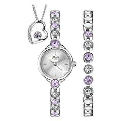 Limit Ladies' Watch, Bracelet and Pendant Set