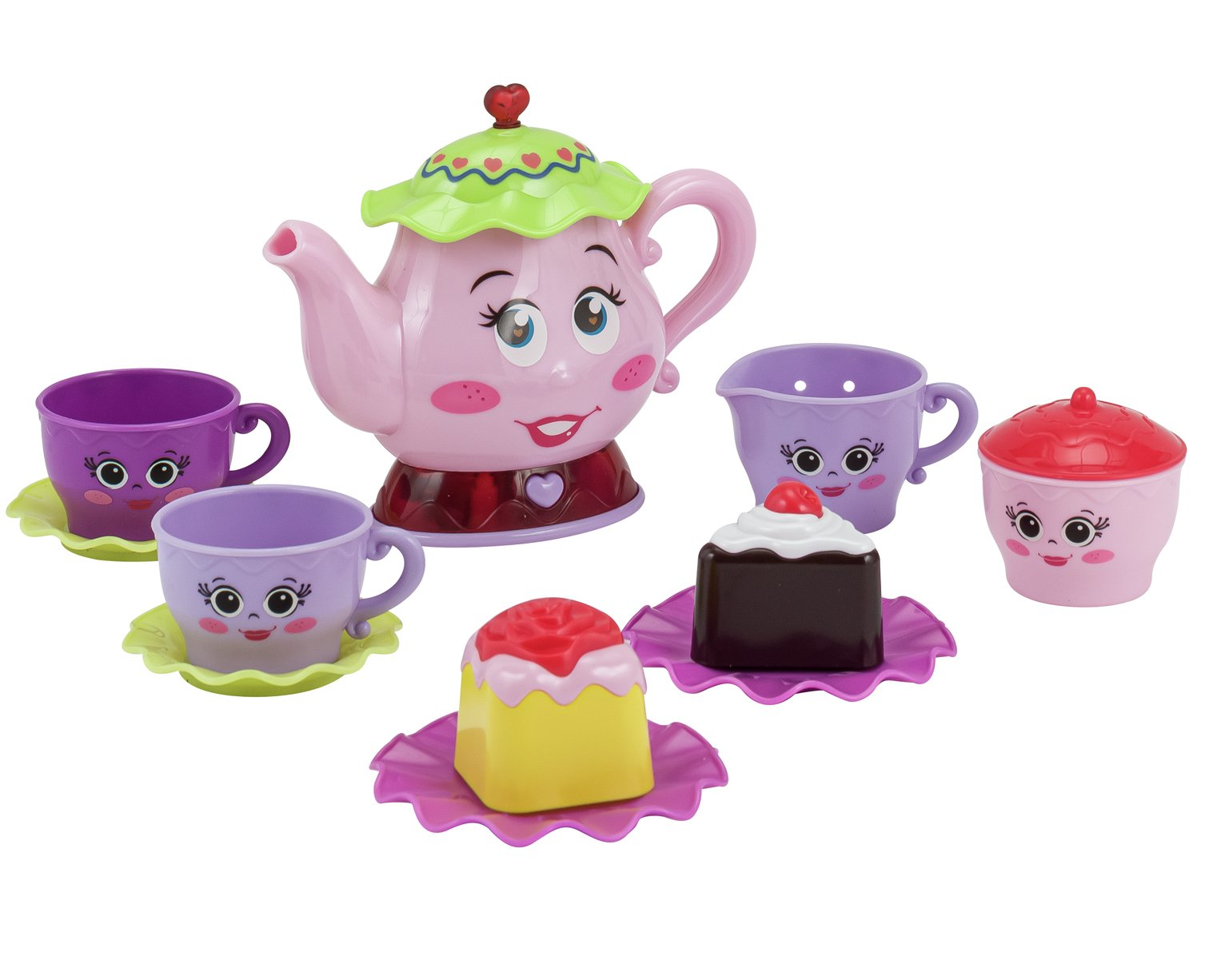 chad valley pink tea party set cooking role play   argos  rh   argos co uk