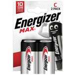 more details on Energizer Max C Batteries - Pack of 2.