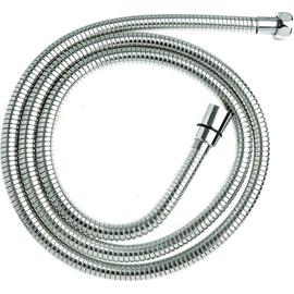 Croydex Wide Bore 2m S/Steel Stretch Shower Hose - Chrome