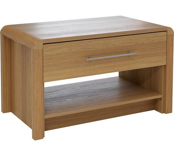 Heart Of House Elford 1 Drawer Coffee Table   Oak Effect