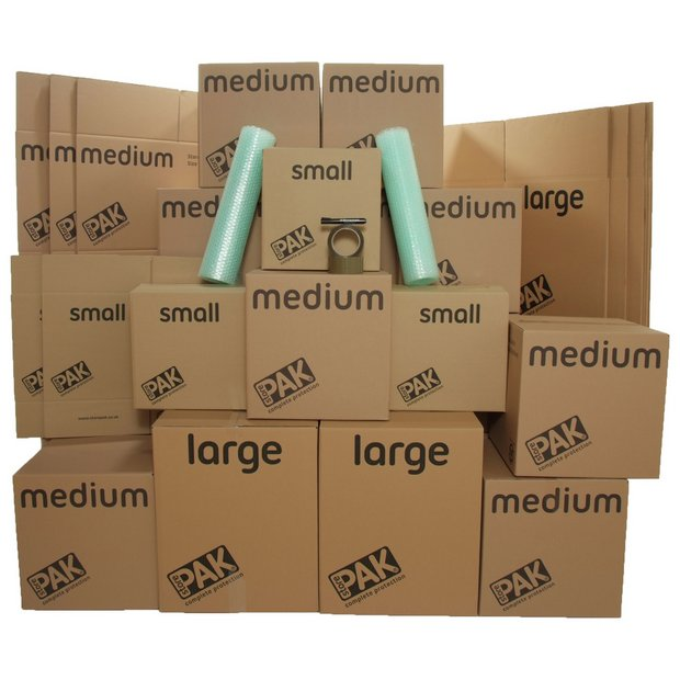 Buy Storepak Moving House Pack 33 Boxes At