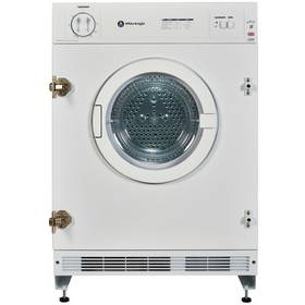 White Knight C43AW Integrated Tumble Dryer - White