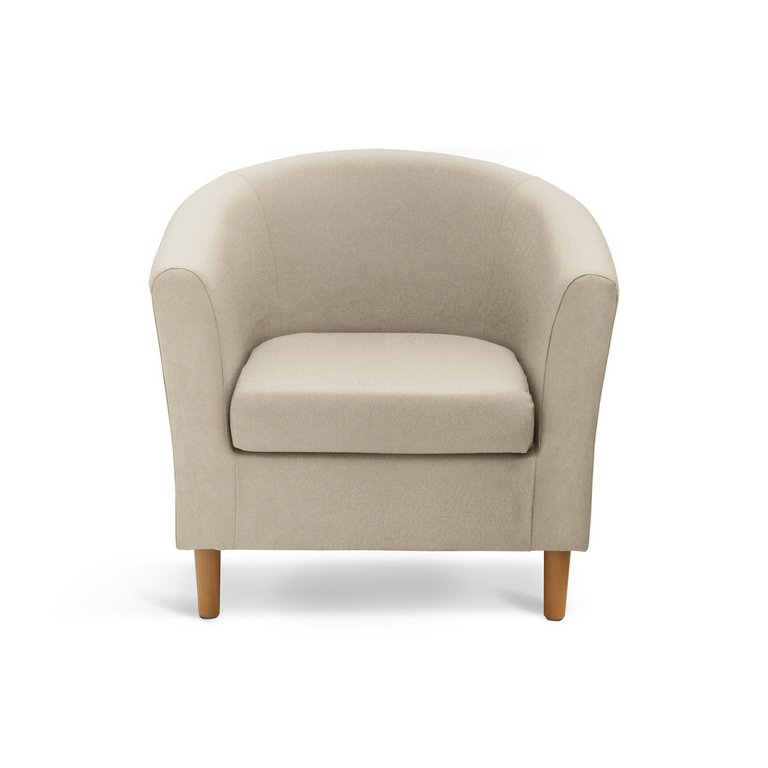 Buy Colourmatch Fabric Tub Chair Cafe Mocha At Argos Co