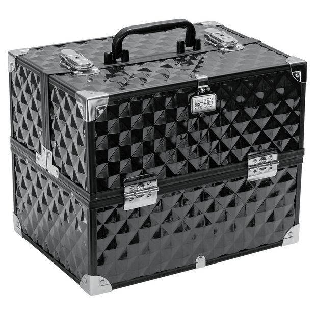 Buy SOHO Digital Diamond Large Black Beauty Case At Argos