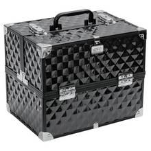 SOHO Black Digital Diamond Large Vanity Case