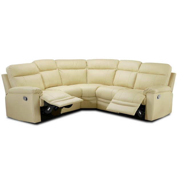 Buy Collection New Paolo Manual Recliner Corner Sofa