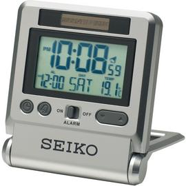 Seiko LCD Travel Alarm Clock