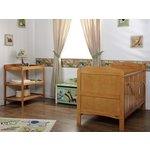 more details on Obaby Grace 2 Piece Nursery Furniture Set - Country Pine.