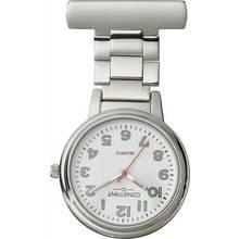 Constant Nurses' Silver Fob Pin Fastening Watch