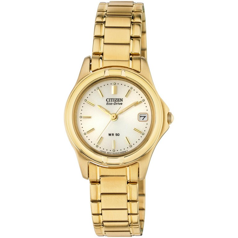 buy citizen eco drive gold tone bracelet at