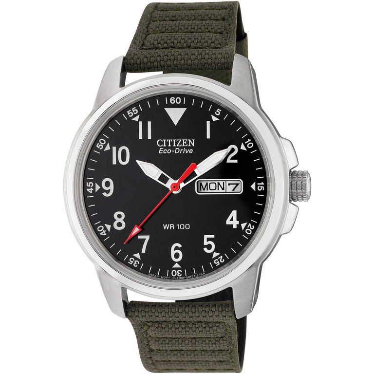 buy citizen s eco drive canvas at argos co