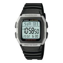 Casio Men's Black Resin Strap Digital LCD Watch
