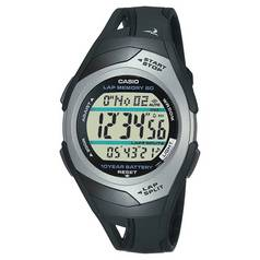 Casio Black Resin Strap 60 Lap illuminator Watch