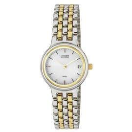 Citizen Ladies Eco-Drive Two-Tone Bracelet Watch