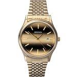more details on Sekonda Men's Gold Plated Tiger Eye Watch.