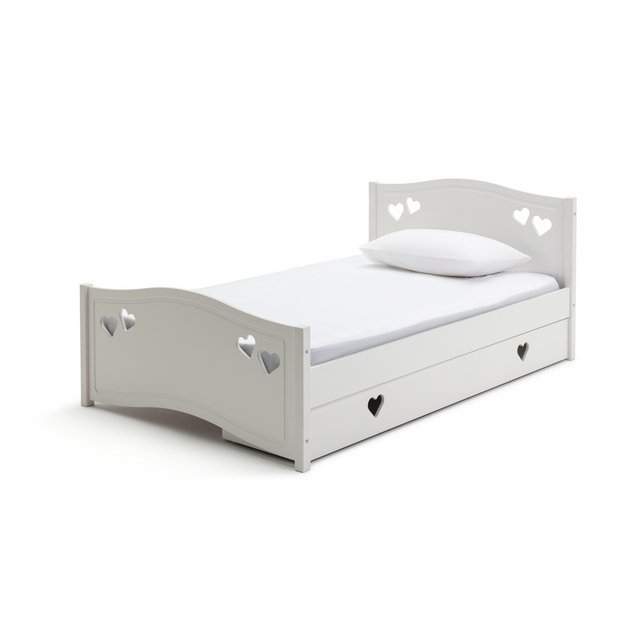 buy collection mia single bed frame white kids beds. Black Bedroom Furniture Sets. Home Design Ideas