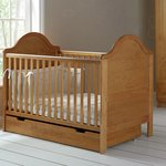 more details on Obaby B is for Bear Cot Bed & Under Drawer – Country Pine.
