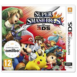 Super Smash Brothers 3DS Game featuring Pokemon