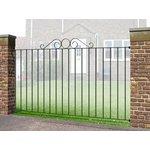 more details on Metpost Ironbridge Fence 181cmx93cm.