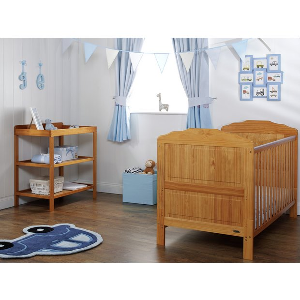 buy obaby beverley 2 piece nursery furniture set country. Black Bedroom Furniture Sets. Home Design Ideas