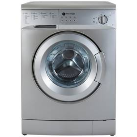 White Knight WM126VS 6KG 1200 Spin Washing Machine - Silver