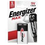 more details on Energizer Max 9V Battery.