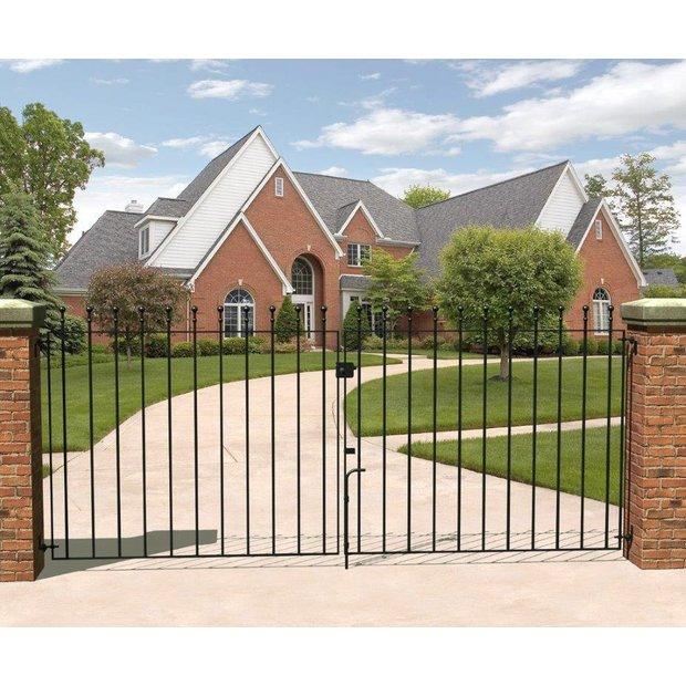 buy metpost wenlock double gates x 90cm at argos. Black Bedroom Furniture Sets. Home Design Ideas