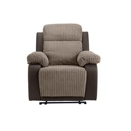 Argos Home Bradley Chair & 2 Seater Recliner Sofa - Natural