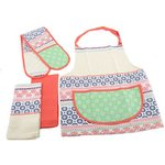 more details on Creative Tops Wandered Apron, Oven Glove and Tea Towels.