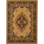 more details on HOME Bukhura Traditional Rug - 160x120cm - Cream.