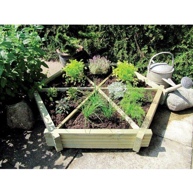 buy grange fencing herb wheel planter at. Black Bedroom Furniture Sets. Home Design Ideas