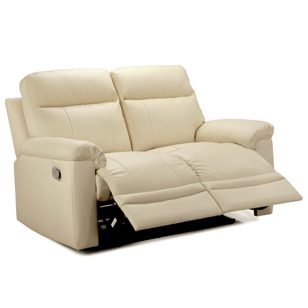 Buy Collection New Paolo 2 Seater Manual Recliner Sofa