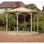more details on Grange Fencing Regis Heptagonal Gazebo Bandstand.