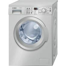 Bosch WAQ2836SGB 8KG 1400 Spin Washing Machine - Silver Best Price, Cheapest Prices