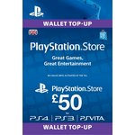 more details on PlayStation Wallet Top-up: £50.00 GBP (PSN)