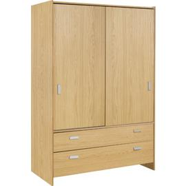 Argos Home New Capella 2 Door 2 Drw Sliding Wardrobe