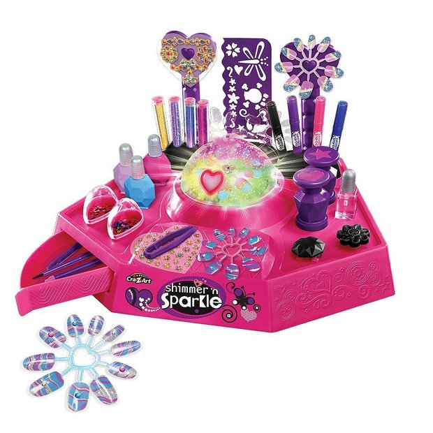 Princess Nail Art Salon Manicure Game For Girls Free: Buy Shimmer And Sparkle Designer Nail And Body Art Studio