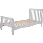 more details on Collection Daisy Sleigh Single Bed Frame - White.