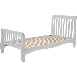 Argos Home Daisy White Single Sleigh Bed Frame