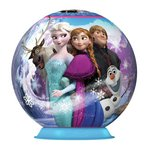 more details on Ravensburger Disney Frozen 72 Piece 3D Puzzleball.