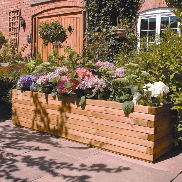 buy rowlinson patio planter at your online. Black Bedroom Furniture Sets. Home Design Ideas